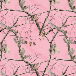 CARD STOCK AP Realtree® Pink Camouflage Scrapbook Paper