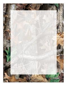 Letterhead Advantage Timber® Camo (Border)