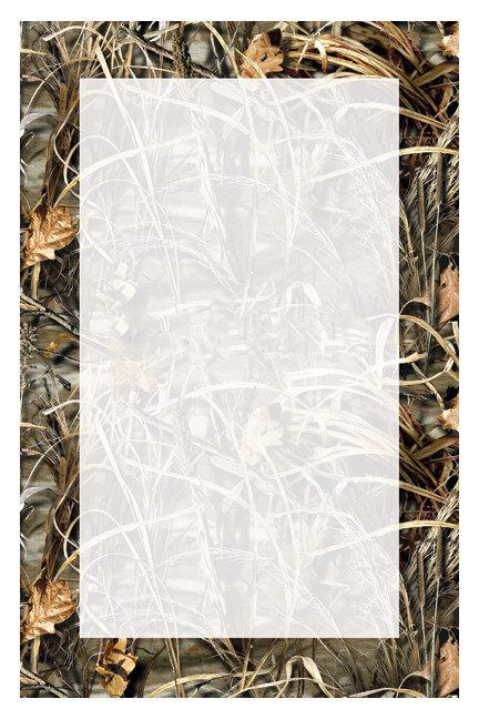 Blank Invitation Of Max4 Realtree Camouflage Invite Waterfowl