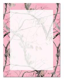 Pink Letterhead Realtree