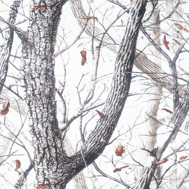 Hardwood Realtree Snow 12x12 Paper
