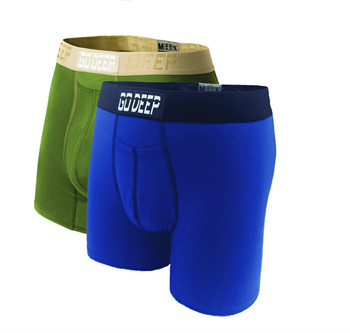 Double Pack set of Dual-Climate™ Underwear Boxers 2GRNXBLUBLK