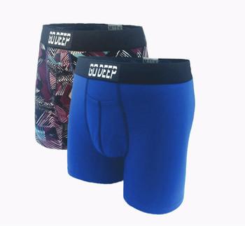 Double Pack set of Dual-Climate™ Underwear Boxers 2BRPXBLUBLK