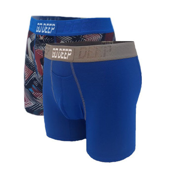 Copy of Double Pack set of Dual-Climate™ Underwear Boxers 2BRBXROYBLUGRY