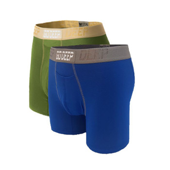 Double Pack set of Dual-Climate™ Underwear Boxers 2GRNXNROYBLUGRY