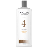 nioxin system 4 shampoo for noticeably thinning, chemically treated, fine hair
