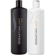 sebastian light shampoo and conditioner duo