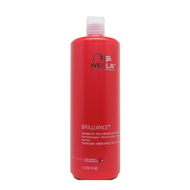 Wella Brilliance Shampoo (Fine/Normal) 33.8oz