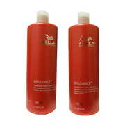 Wella Brilliance Shampoo and Conditioner (Thick/Coarse) Duo 33.8oz