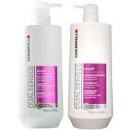 goldwell dual senses color shampoo & conditioner duo 25 oz