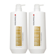 goldwell dual senses rich repair shampoo & conditioner duo 25 oz