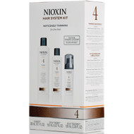 nioxin hair system 4 kit noticeably thinning for fine hair