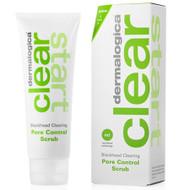 dermalogica clear start blackhead clearing pore control scrub 2 oz