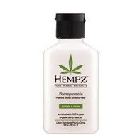 hempz pomegranate herbal body moisturizer 2 oz