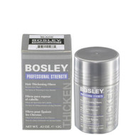 bosley hair thickening fibers black .42oz