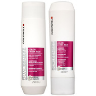 goldwell dual senses color extra rich shampoo & conditioner duo 10 oz