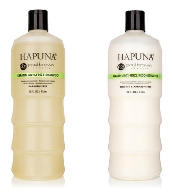 Paul Brown Hawaii Hapuna Keratin Anti-Frizz Shampoo And Reconstructor Duo