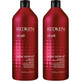 redken color extend shampoo and conditioner duo anti-fade and moisturizing for color treated hair that detangles & smooths for vibrant, shiny, hair.