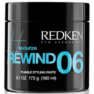 redken rewind 06 medium hold texturizing hair paste