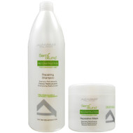 Alfaparf Milano Semi Di Lino Reconstruction Repairing Shampoo And Reparative Mask Duo