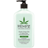hempz exotic green tea & asian pear herbal body moisturizer 17 oz
