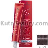 igora royal metallics 8-29