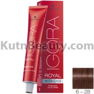 igora royal metallics 6-28