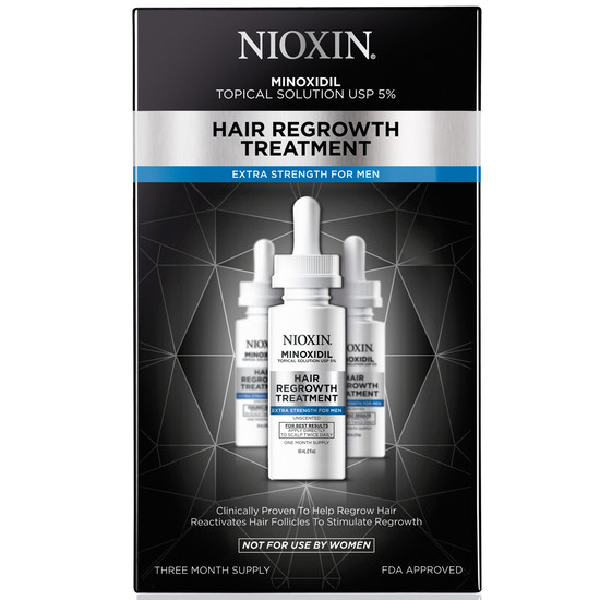 nioxin hair regrowth treatment extra strength for men
