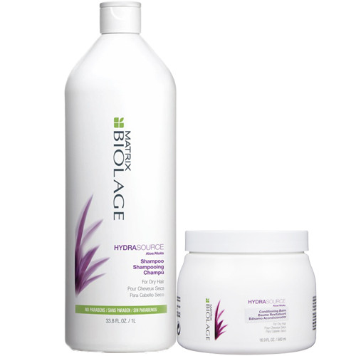 Matrix Biolage HydraSource Shampoo and Conditioning Balm Set