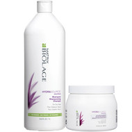 Matrix Biolage HydraSource Shampoo and Conditioning Balm Set