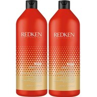 Redken frizz dismiss shampoo and conditioner Liter duo