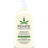 hempz sensitive skin herbal body moisturizer 17 oz