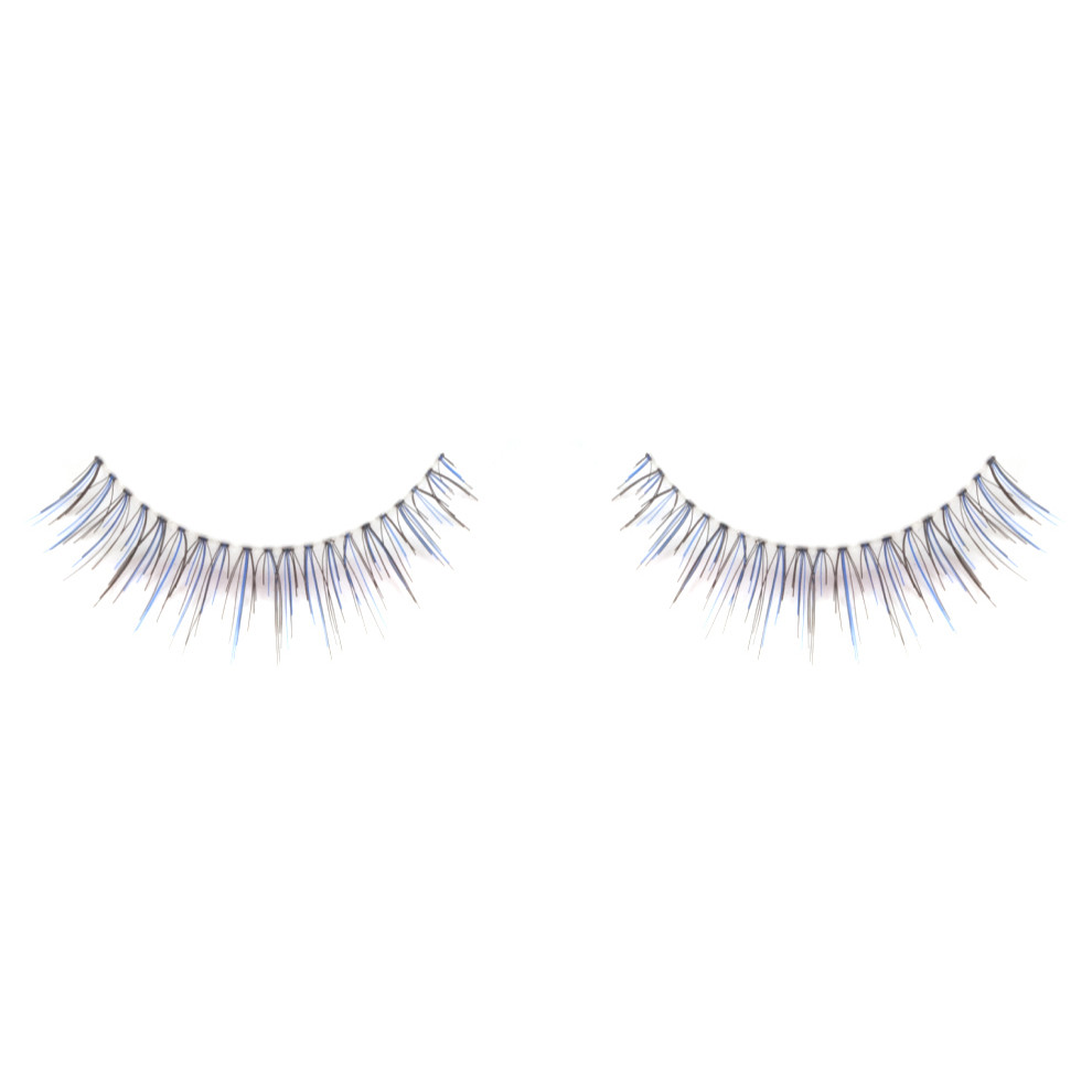 5f3e7d2eefe ardell color impact lashes 110 blue - Glamazon Beauty Supply