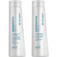Joico Curl Cleansing Sulfate-Free Shampoo & Curl Nourished Conditioner Duo