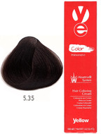 Alfaparf Yellow Hair Color Light Golden Mahogany Brown