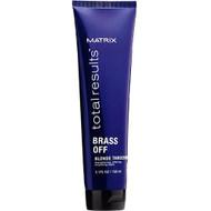 Matrix Total Results Brass off Blonde Threesome
