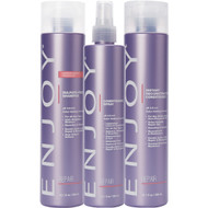 Enjoy Sulfate-Free Shampoo, Instant Recontructing Conditioner, and Conditioning Spray Trio