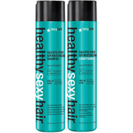 Healthy Sexy Hair Sulfate-Free Soy Moisturizing Shampoo and Conditioner Duo 10oz