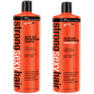 Strong Sexy Hair Color Safe Strengthening Shampoo and Conditioner 33.8oz