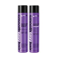 Smooth Sexy Hair Sulfate Free Smoothing Anti-Frizz Shampoo and Conditioner Duo 10.1oz