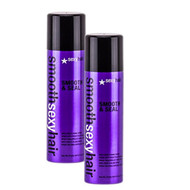 Smooth Sexy Hair Smooth & Seal Anti-Frizz & Shine Spray 6.8oz - 2 Pack