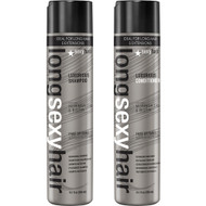 Long Sexy Hair Sulfate-Free Luxurious Nourishing Shampoo and Detangling Conditioner Duo