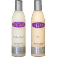 Crome Moisture Cleanz Shampoo and Fix Reconstructor Duo