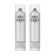 Tigi Bed Head Hard Head Hard Hold Hairspray 10.6oz - 2 Pack