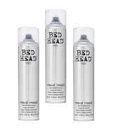 Tigi Bed Head Hard Head Hard Hold Hairspray 10.6oz - 3 Pack