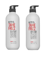 KMS TAMEFRIZZ Shampoo and Conditioner Duo 25.3oz