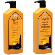 Agadir Argan OIl Daily Moisturizing Shampoo and Conditioner Duo 33.8oz