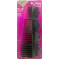 Wahl Precision Attachment Comb 4-Pack