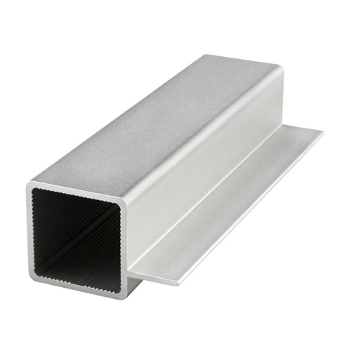 """80/20 9005 Quick Frame - 1"""" Square Single Flanged Tube - CPI Automation"""