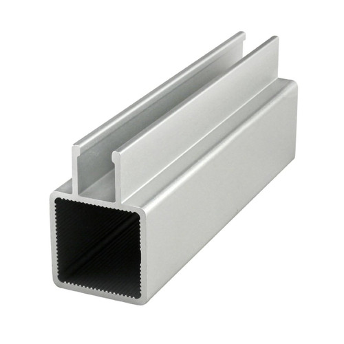 """80/20 9025 Quick Frame - 1"""" Square Single Twin Flanged Tube - CPI Automation"""